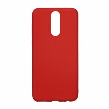 Forcell Soft Piros TPU szilikon tok, Huawei P20 Lite
