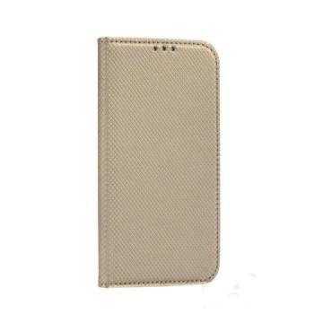 Forcell, arany oldalra nyíló flip tok Samsung Galaxy S20 Plus SM-G985