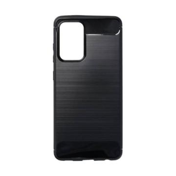 Forcell Carbon Fekete TPU szilikon tok Samsung Galaxy A52 SM-A526B