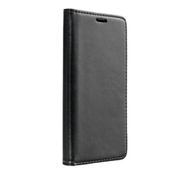 Fekete oldalra nyíló flip tok Samsung Galaxy A40 SM-A405F