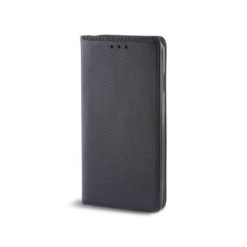 Forcell, fekete oldalra nyíló flip tok - Samsung Galaxy A20e SM-A202F