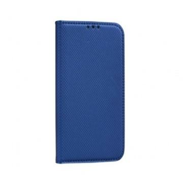 Hempi műbőr kék oldalra nyíló mágneses flip tok, Samsung Galaxy A51 SM-A515F