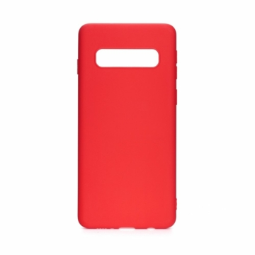 Forcell Silicone Piros TPU szilikon tok, Samsung Galaxy S21 SM-G991