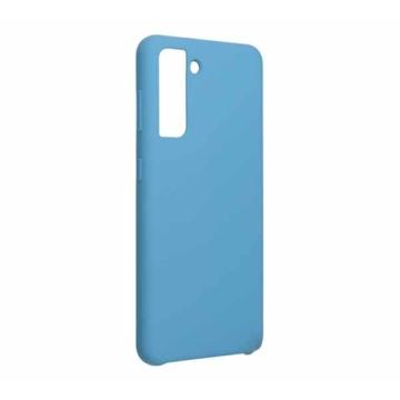 Forcell Silicone kék TPU szilikon tok Samsung Galaxy S21 SM-G991