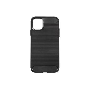 Forcell Carbon Fekete TPU szilikon tok Samsung Galaxy A40, Sm-A405F