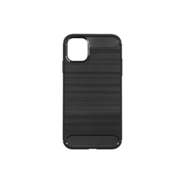 Forcell Carbon Fekete TPU szilikon tok Apple iPhone 7/8/SE 2020