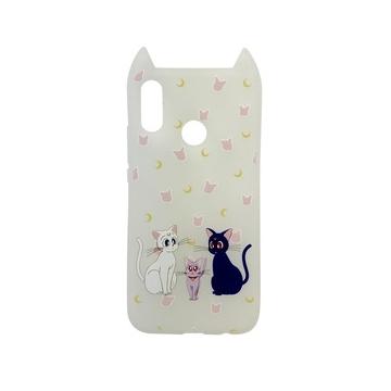 Hana Pop Jelly Fehér Sailor Moon-os TPU szilikon tok, Apple iPhone X/Xs