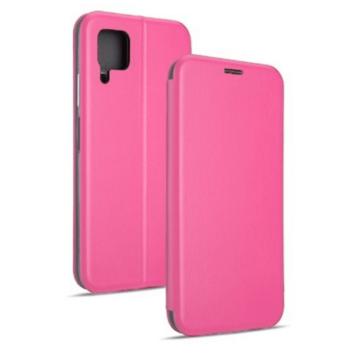 Pink oldalra nyíló mágneses flip tok  Apple iPhone 12 Pro
