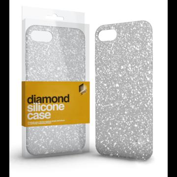 Xprotector Diamond ezüst csillogó TPU szilikon tok, Samsung Galaxy A40 SM-A405F