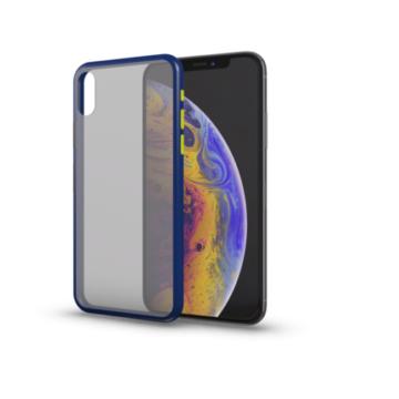 Xprotector Hybrid Matt kék TPU szilikon tok, iPhone 11