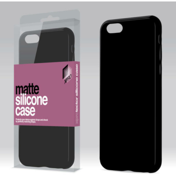 Xprotector Matte Fekete TPU szilikon tok, Samsung Galaxy A40, SM-A405F