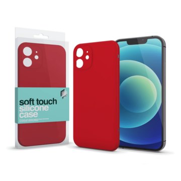 Xprotector Soft Touch Piros szilikon tok, iPhone 7/8/SE 2020