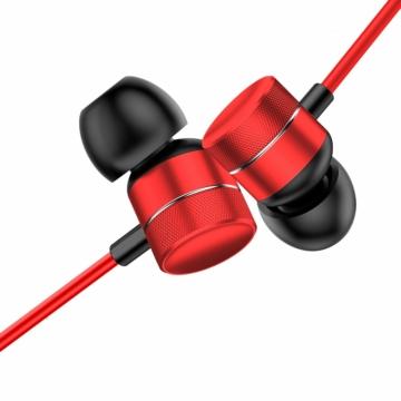 Baseus Encok H04 vezetékes fülhallgató – Piros