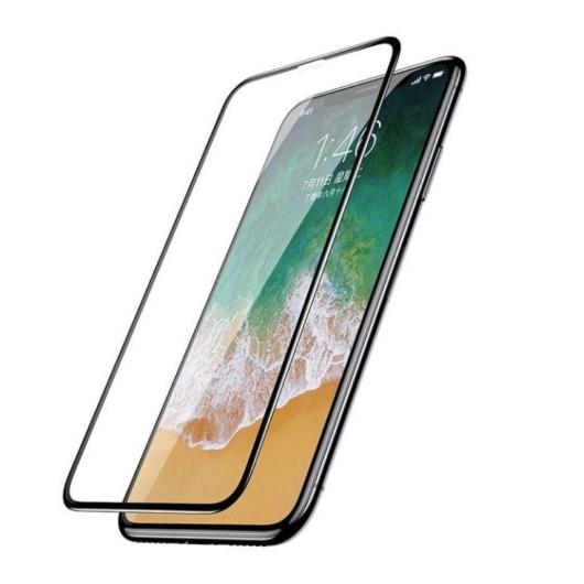 Baseus teljes kijelzős, hajlított edzett üvegfólia Apple iPhone Xs- 2db-os szett
