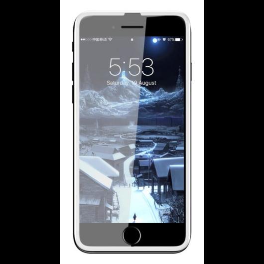 Baseus Silk Screen teljes kijelzős, edzett üveg kijelzővédő fólia Apple iPhone 6s - fehér