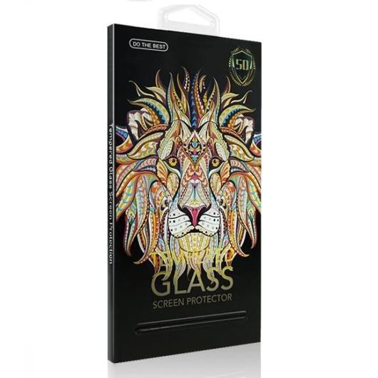 Apple iPhone 7 5D teljes kijelzős üveg fólia fekete
