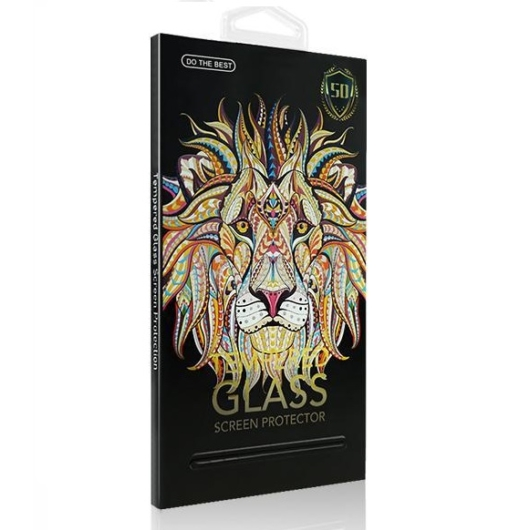 Apple iPhone 7 Plus/8 Plus 5D teljes kijelzős üveg fólia fehér