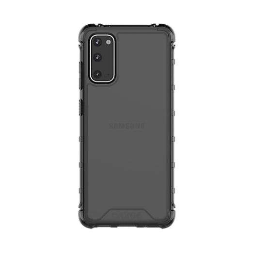 Araree S Cover  ütésálló fekete áttetsző TPU szilikon tok Samsung Galaxy S20 SM-G980