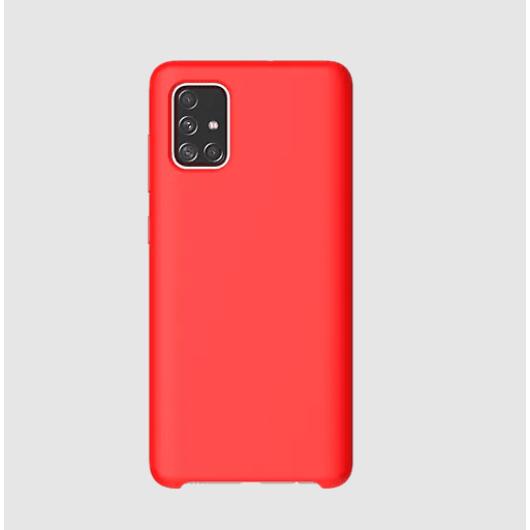 Araree Typo Skin piros erős szilikon tok Samsung Galaxy A71 SM-A715F