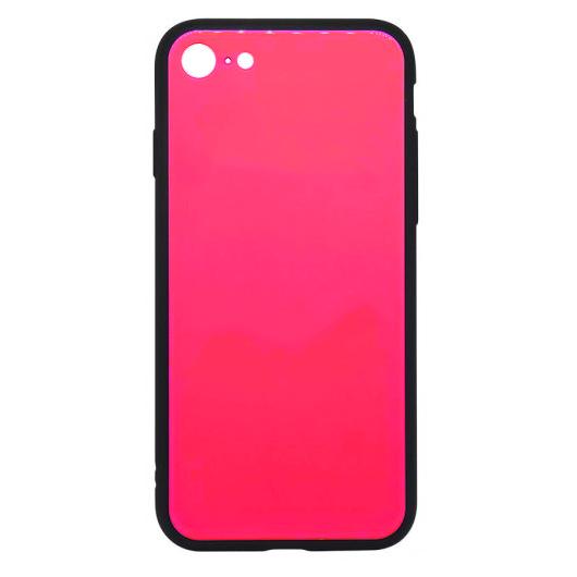 Cellect Pink Edzett Üveg hátlapú TPU szilikon tok Apple iPhone X/Xs