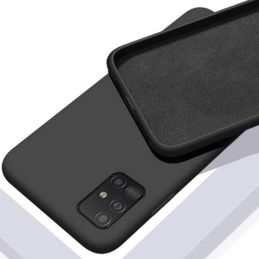 Cellect fekete színű TPU Szilikon Tok Samsung Galaxy S21 SM-G991
