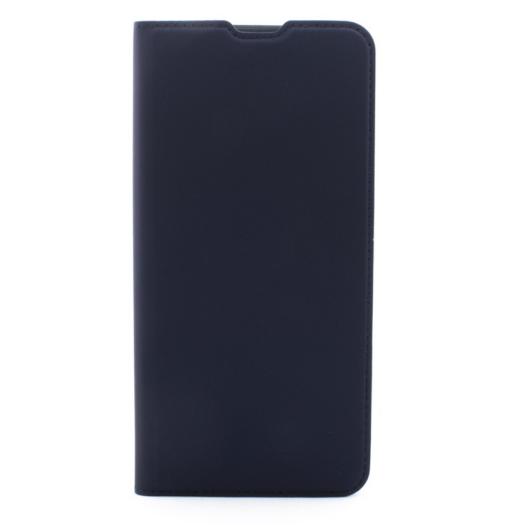 Cellect műbőr sötétkék oldalra nyíló flip tok, Samsung Galaxy A30s SM-A307F