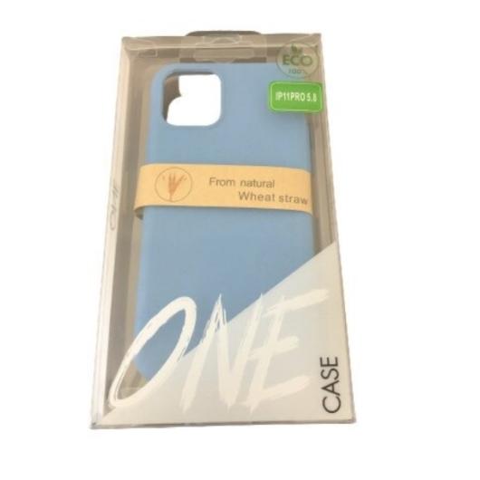 ZeroWaste Eco lebomló, komposztálható tok, kék Apple iPhone 11