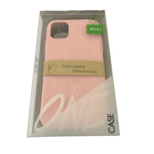 ZeroWaste Eco lebomló, komposztálható tok, pink Apple iPhone 11 Pro Max