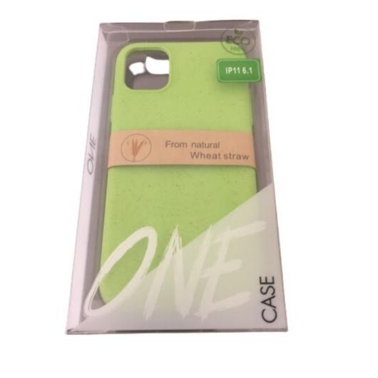 ZeroWaste Eco lebomló, komposztálható tok, zöld Apple iPhone Xs