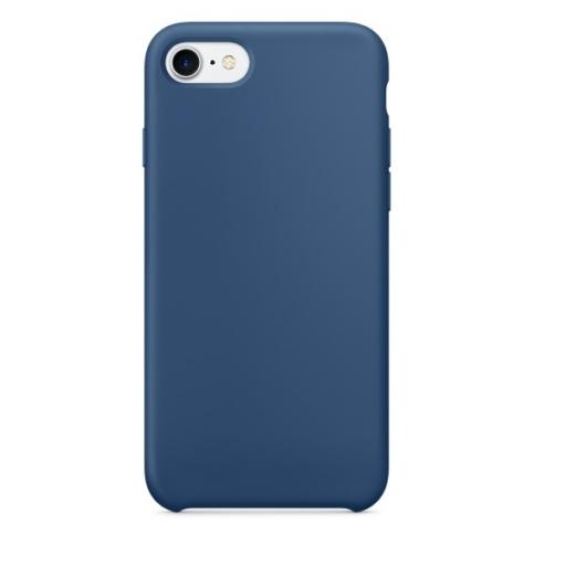 Hempi Kék PC (műanyag) Tok Eredeti Bőr Hátlappal, iPhone 6s