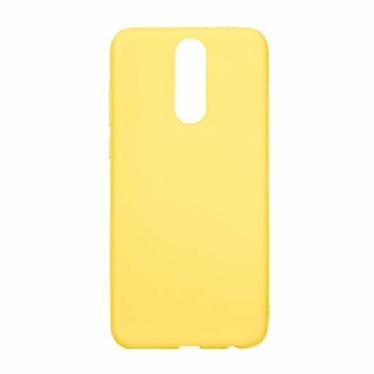 Hempi Sárga Ütésálló TPU szilikon tok Samsung Galaxy A50 SM-A505F