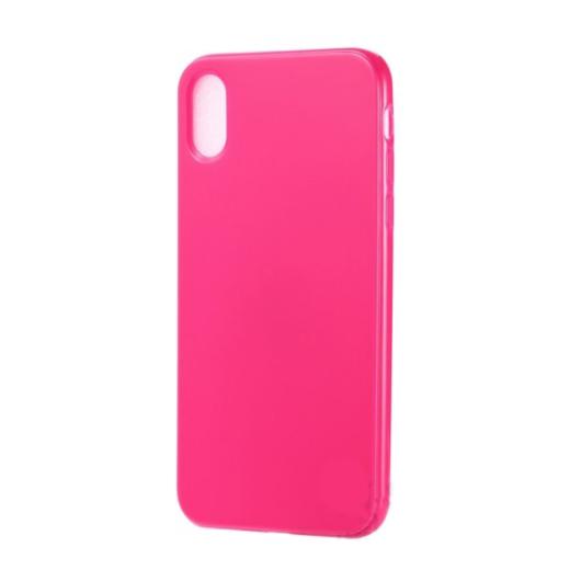 Hempi neon pink ütésálló TPU szilikon tok iPhone 7/8/SE 2020