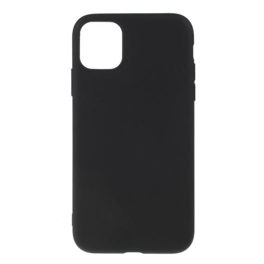 Hempi Second Skin Fekete Szilikon TPU Tok iPhone Xr
