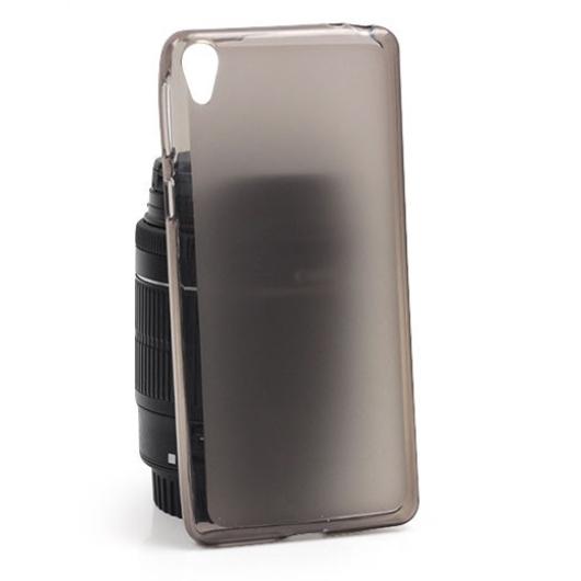Fényes Szélű Matt Fekete Szilikon tok, Apple iPhone 6s