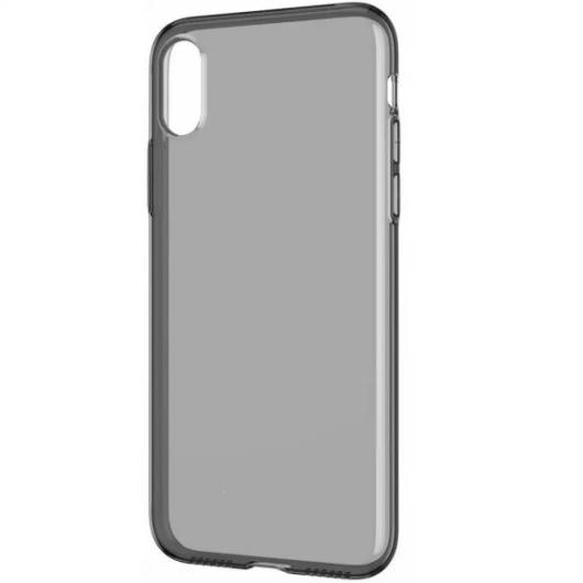 Füst színű TPU szilikon tok Apple iPhone Xs MAX