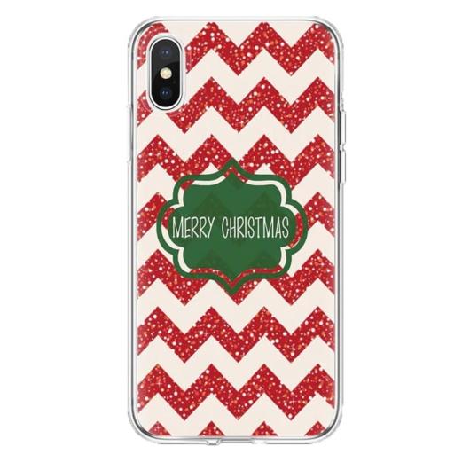 Piros fehér karácsonyi mintás TPU szilikon tok Samsung Galaxy A5 (2017) SM-A520F