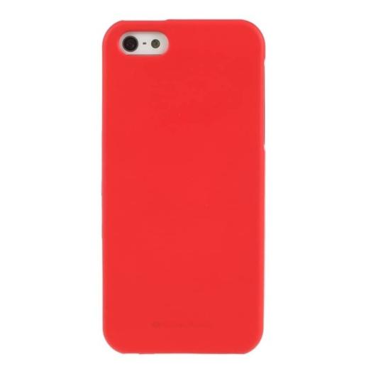 Goospery Soft Feeling Piros Szilikon TPU tok, Samsung Galaxy A41 SM-A415F
