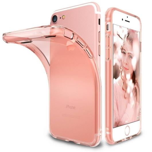 Ringke Air erősített átlátszó szilikon tok, iPhone 7/8/SE 2020