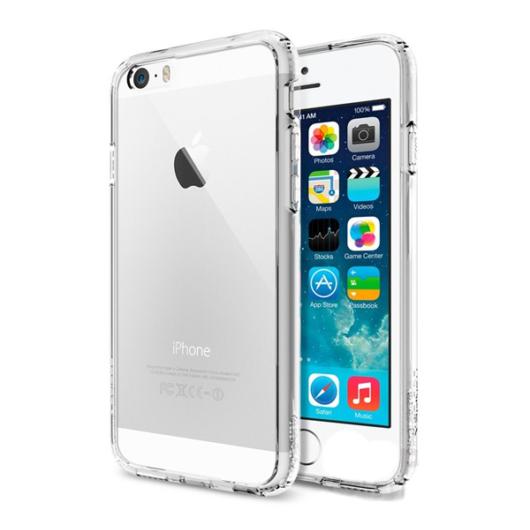 Spigen Ultra Hybrid Áttetsző műanyag - szilikon tok, Apple iPhone X/Xs