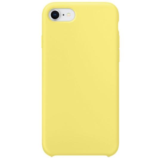 Apple Utángyártott Limonádé Sárga Szilikon hátlapi TPU tok, iPhone X/Xs