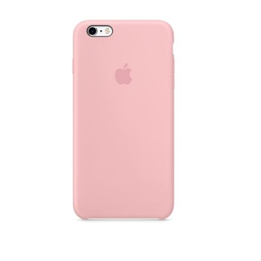 Apple Pink Gyári Szilikon hátlapi TPU tok, iPhone X/Xs