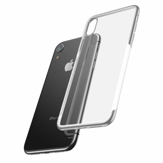 Baseus Shining  Ezüst TPU (szilikon) tok, iPhone 11 Pro Max