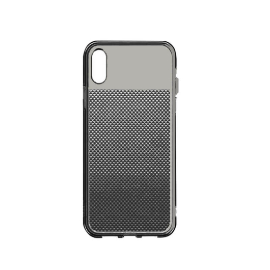 Baseus Glistening Transparent Fekete  ( áttetsző ) TPU tok, iPhone Xr