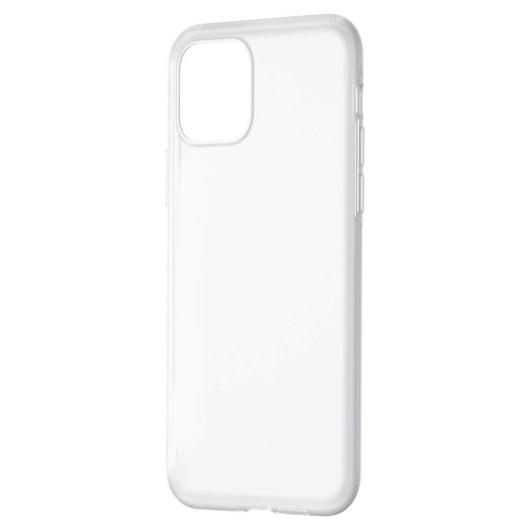 Baseus Jelly Liquid silica gel protective fehér ütésálló TPU tok, iPhone 11