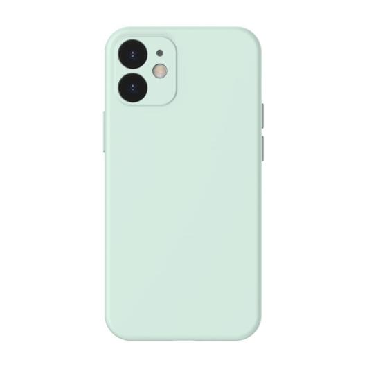 Baseus Liquid Silica Gel szilikon menta tok, iPhone 12 mini