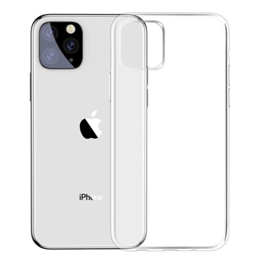 Baseus Simplicity Series Átlátszó TPU tok, iPhone 11