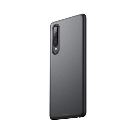 Baseus Wing Ultra Vékony Áttetsző Fekete PP (műanyag) tok, iPhone Xr