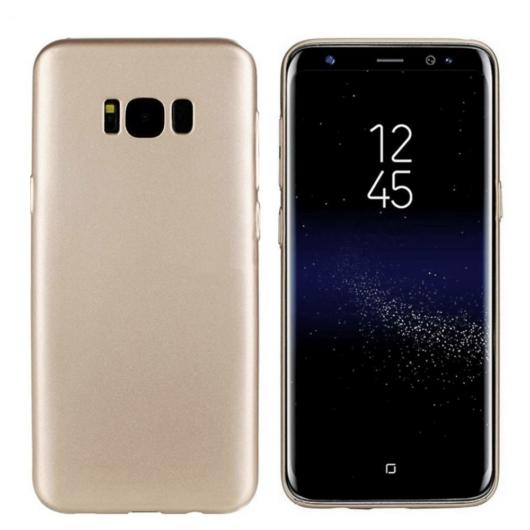Colorfone Arany Metál színű TPU szilikon tok, Samsung Galaxy S8 SM-G950
