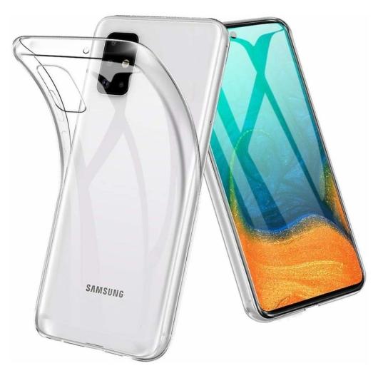 Átlátszó (víztiszta) TPU szilikon tok, Samsung Galaxy A40, SM-A405F