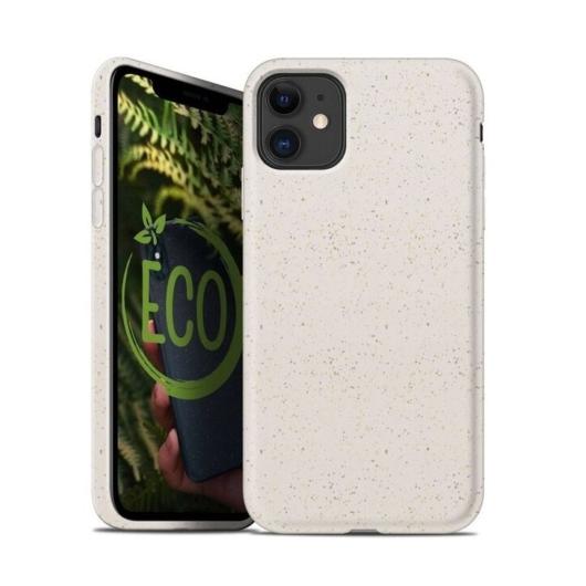 Forcell Bio Lebomló, Komposztálható tok, fehér Apple iPhone 7/8/SE 2020